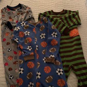 Boys Carters fleece pajamas